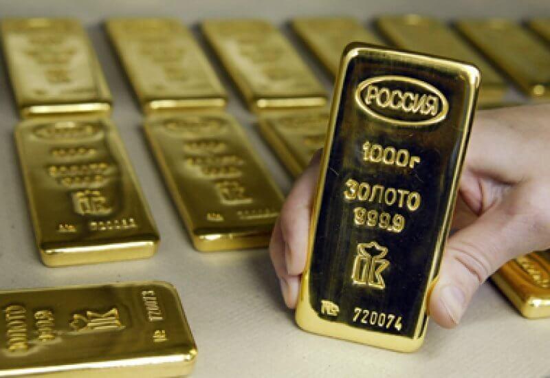 finance01 - Запасы золота в резервах РФ достигли 1583,2 тонны