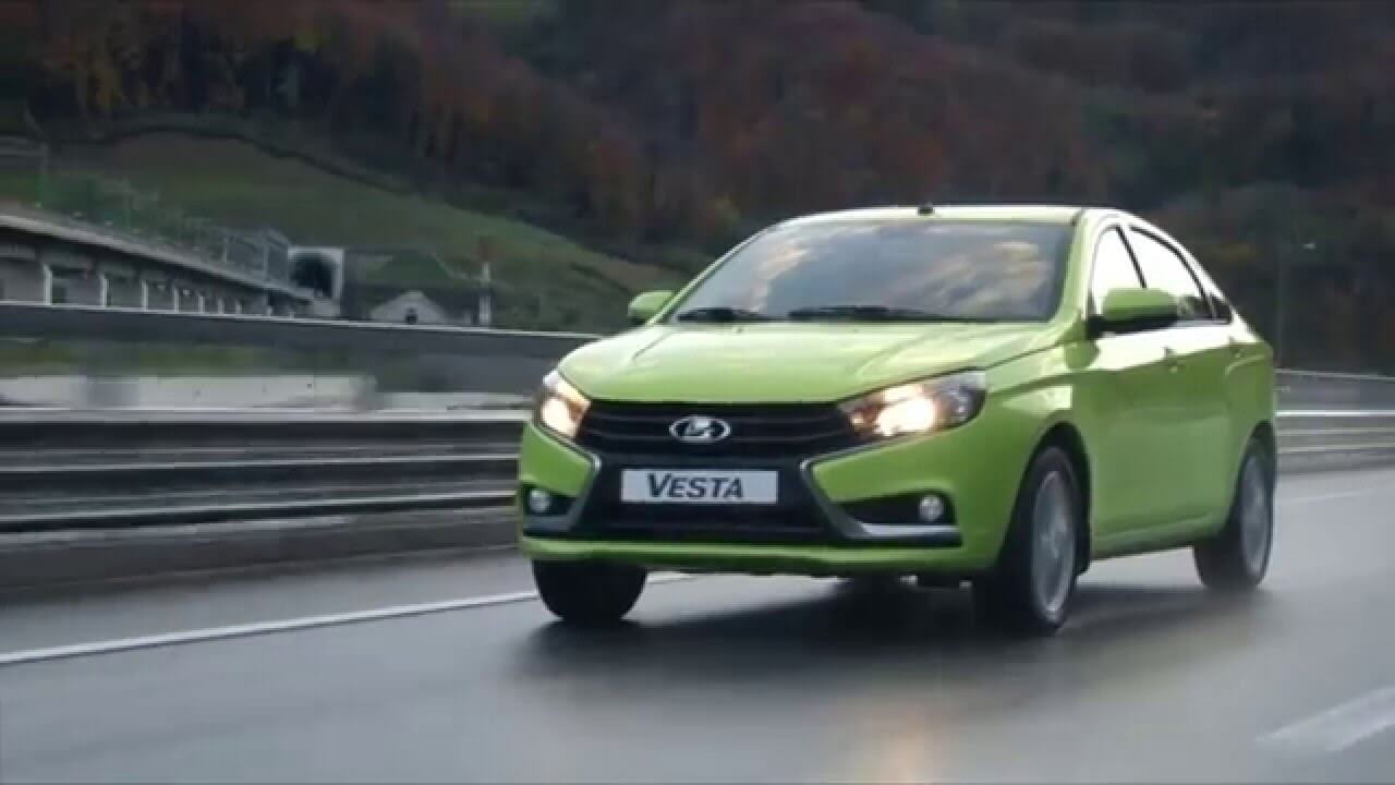 reklamnyj rolik lada vesta - Рекламный ролик Lada Vesta